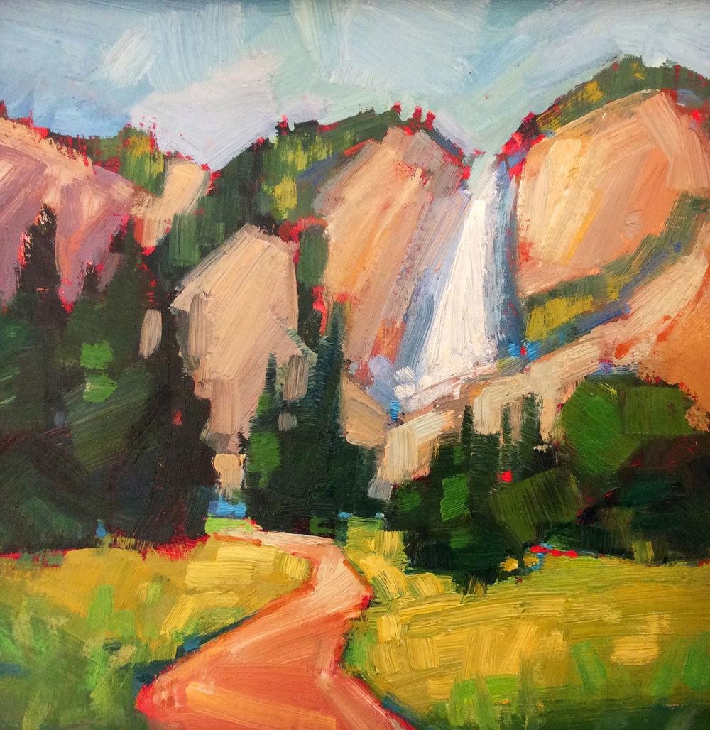 Yosemite Falls, June