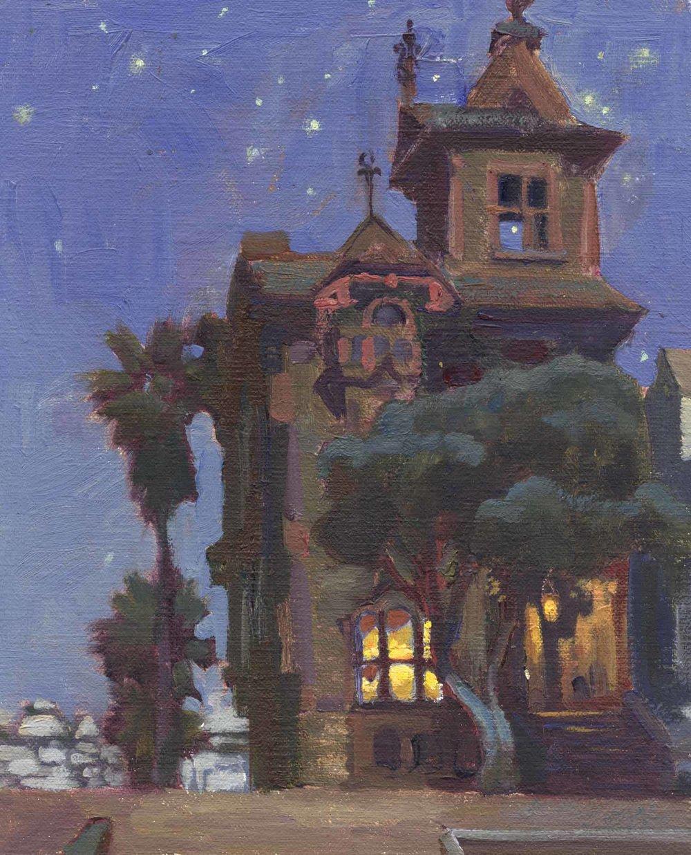 Alamo Square Victorian