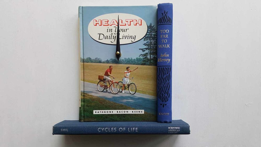 Cycles of Life Book Clock