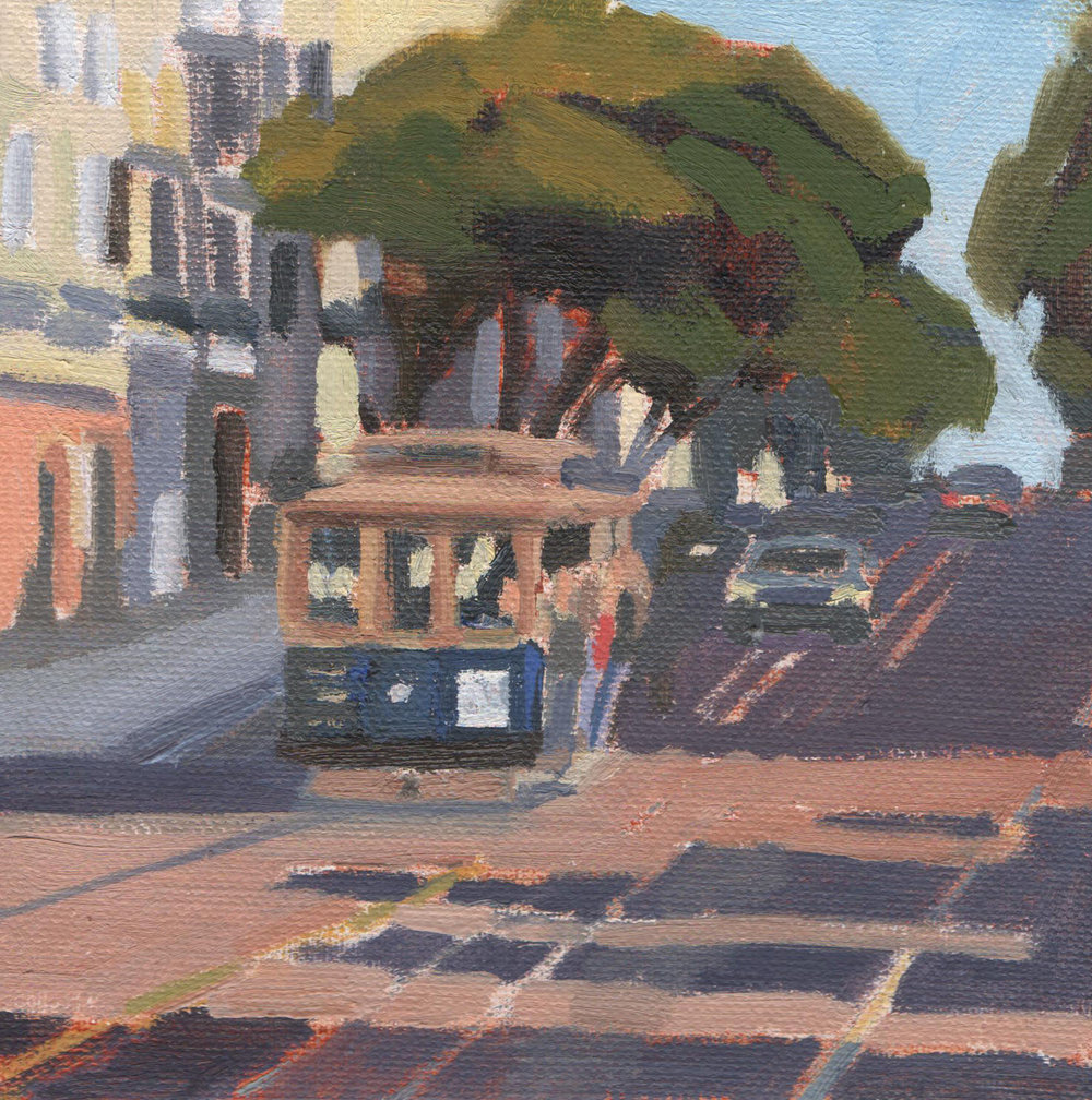 Cable Car on Hyde Street