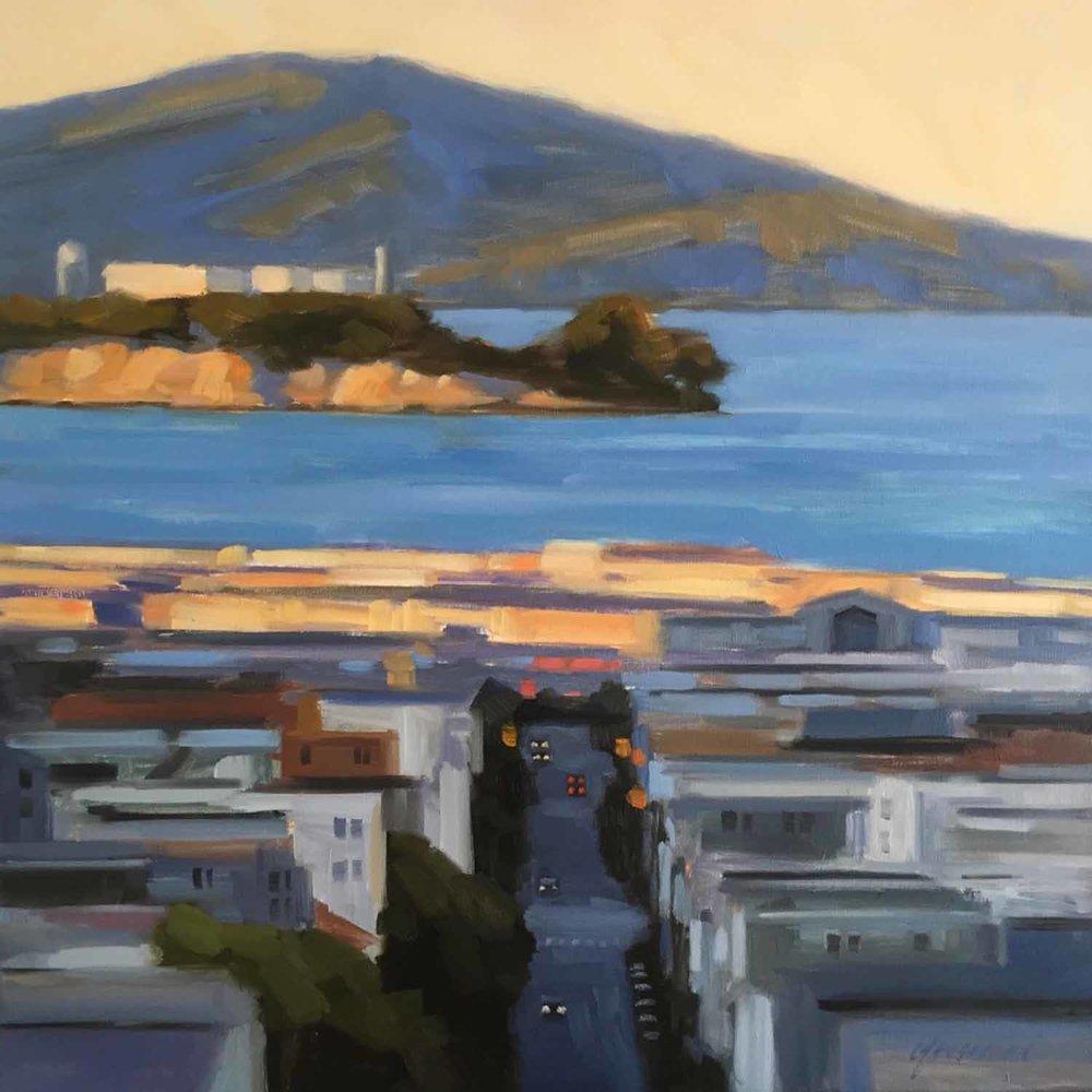 Golden Hour, Alcatraz