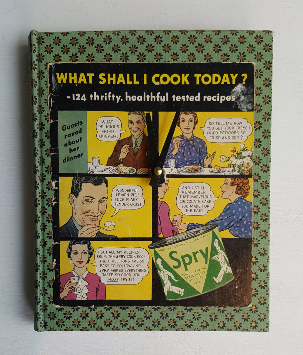 What Shall I Cook Today? Clock