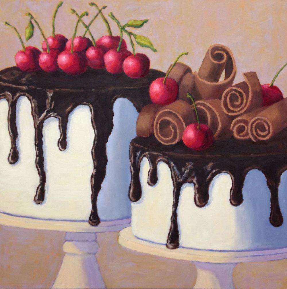 Tuxedo Cakes