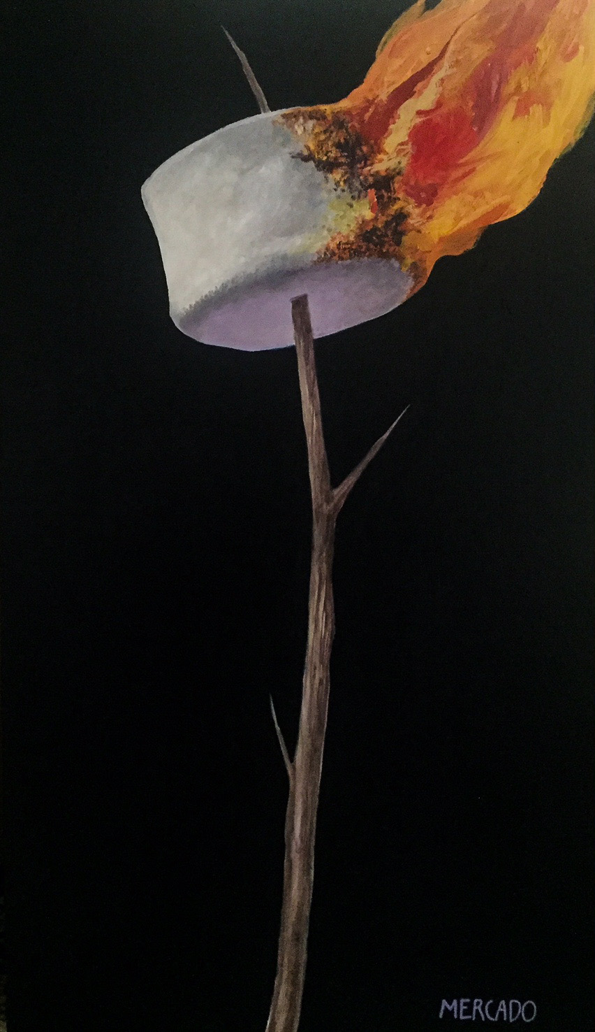 Marshmallow Flambe