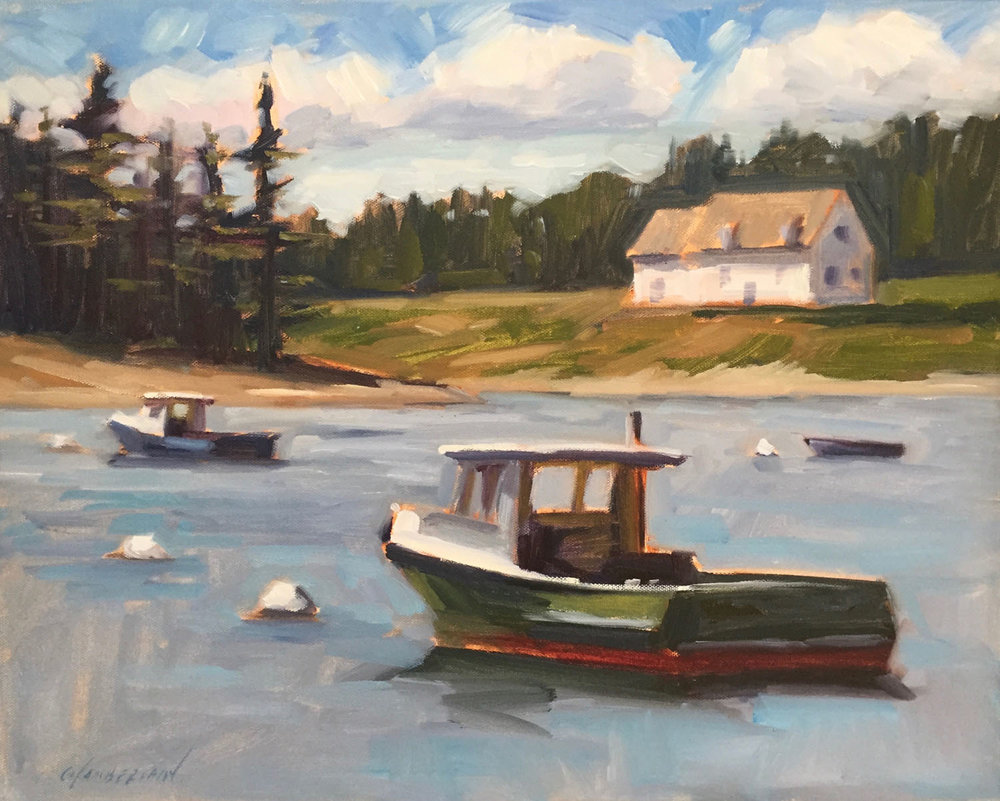 Lobster Boats, Port Clyde, Maine