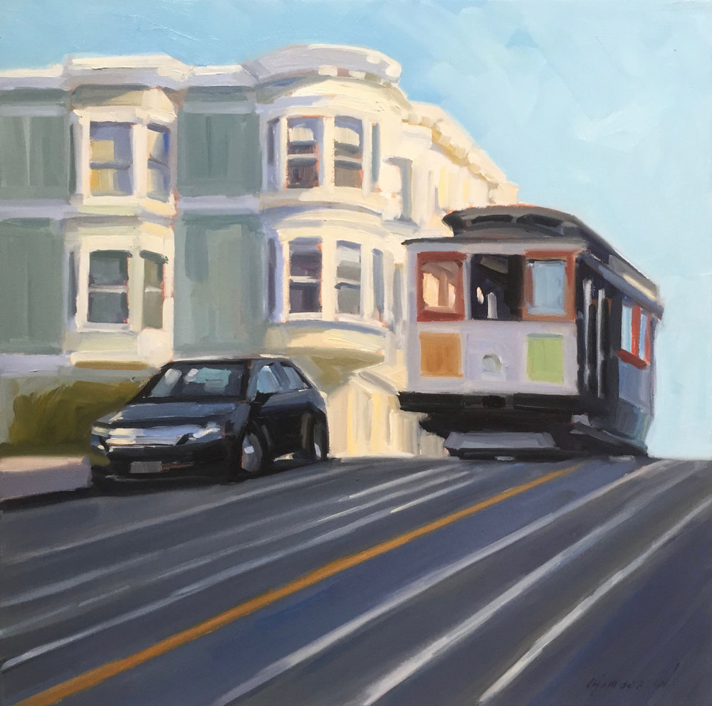 Hyde Street Cable Car