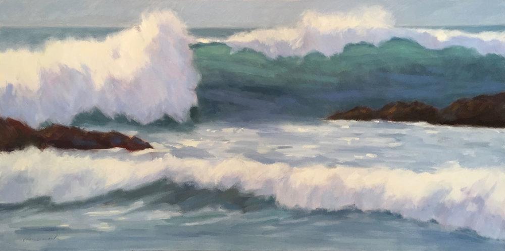 Waves, Pescadero