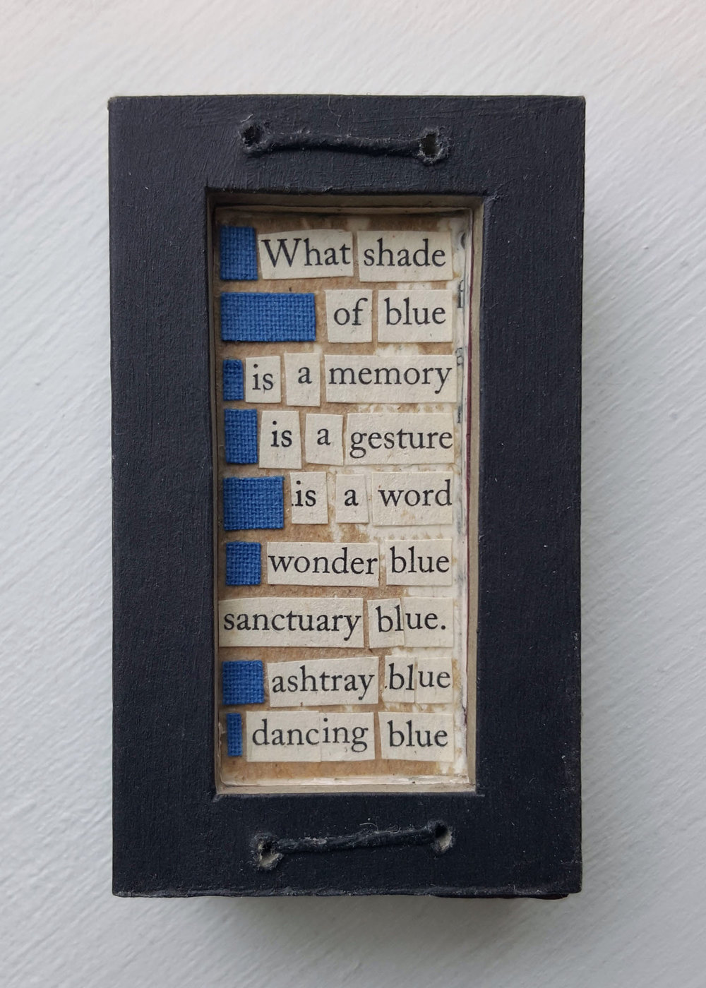 Book Fragments: What Shade of Blue