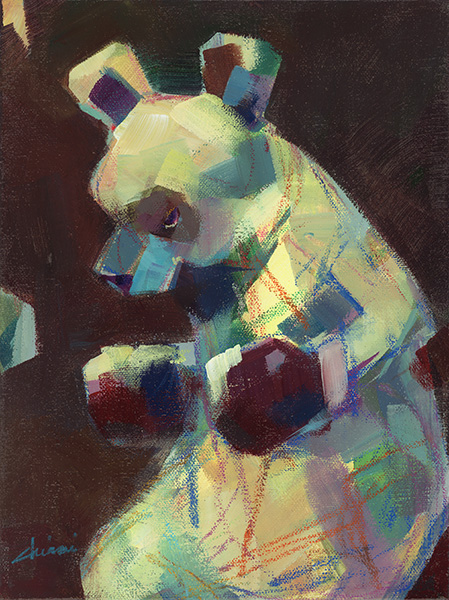 Boxing Bear - Brown 2