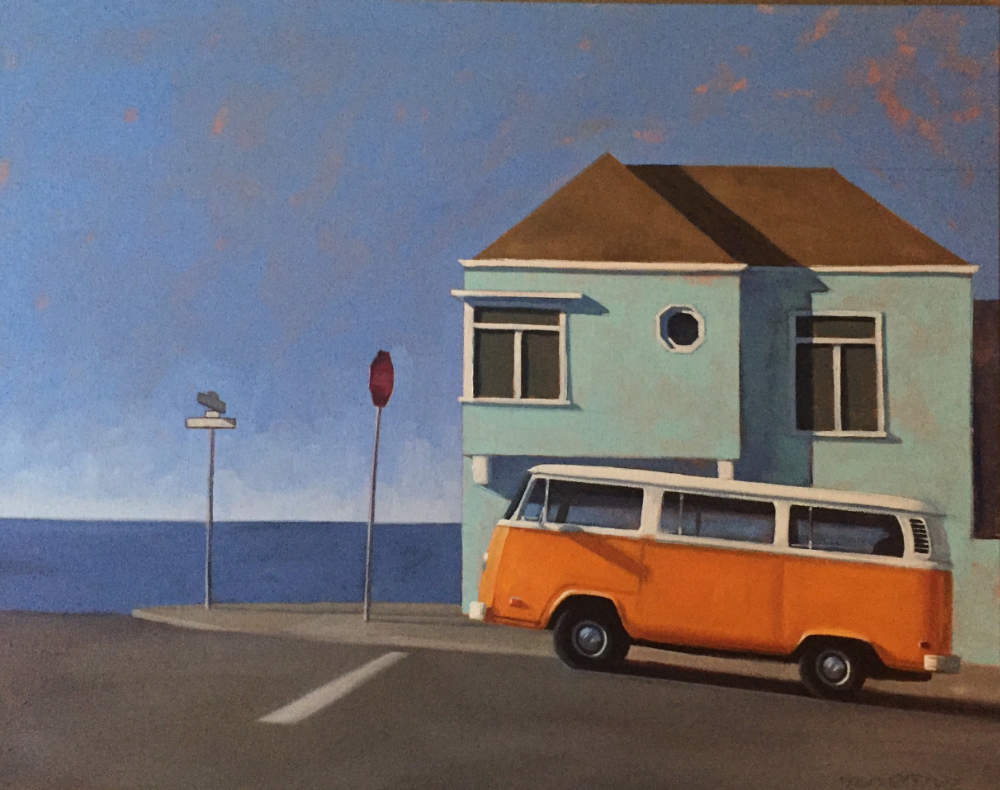 Oceanview with VW Bus