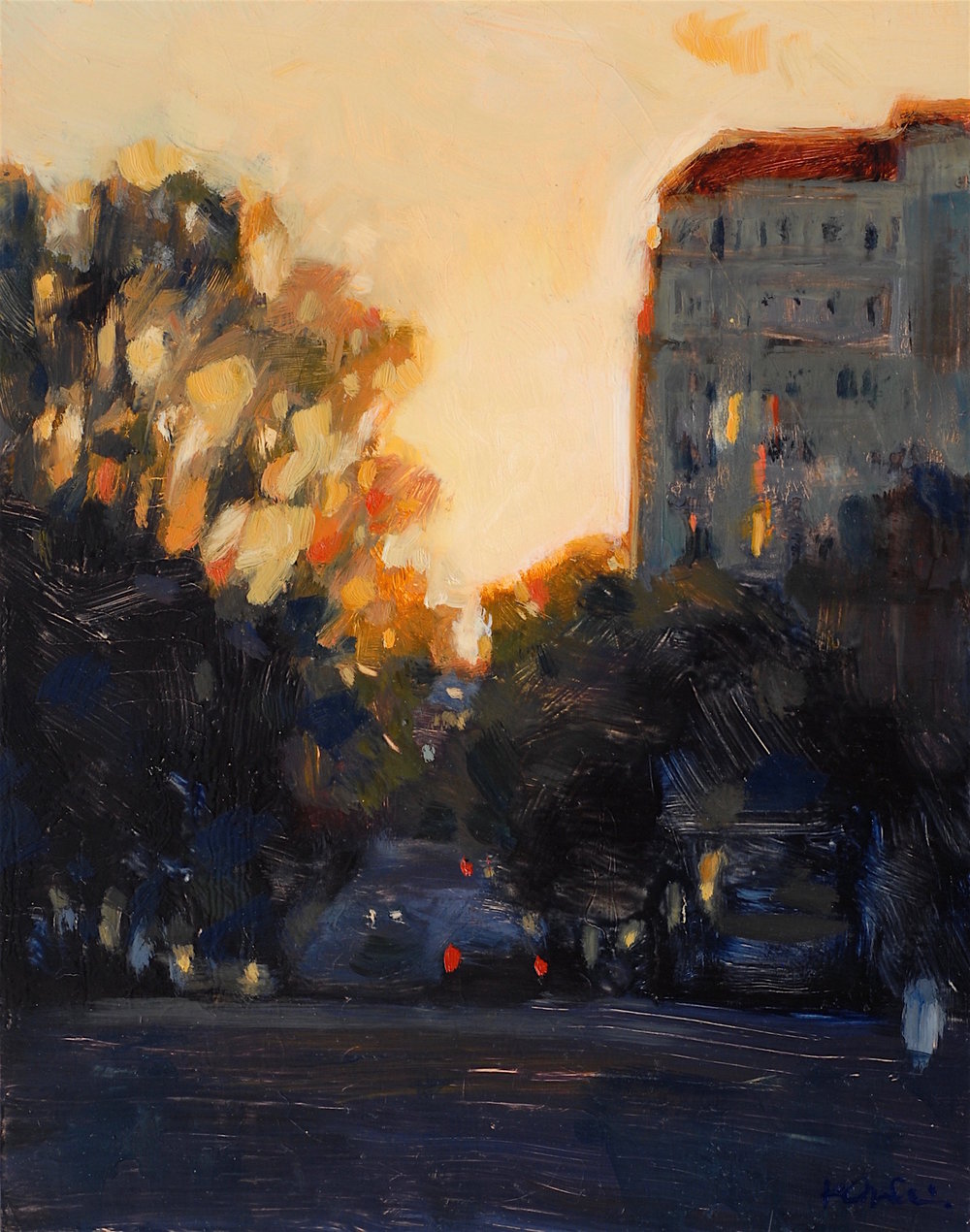 Dusk, Pacific Heights