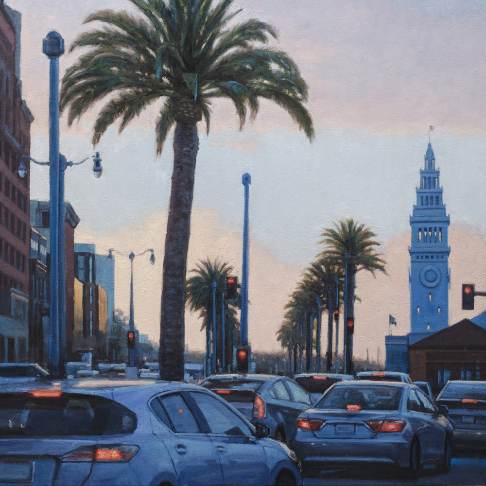 Embarcadero Sunset