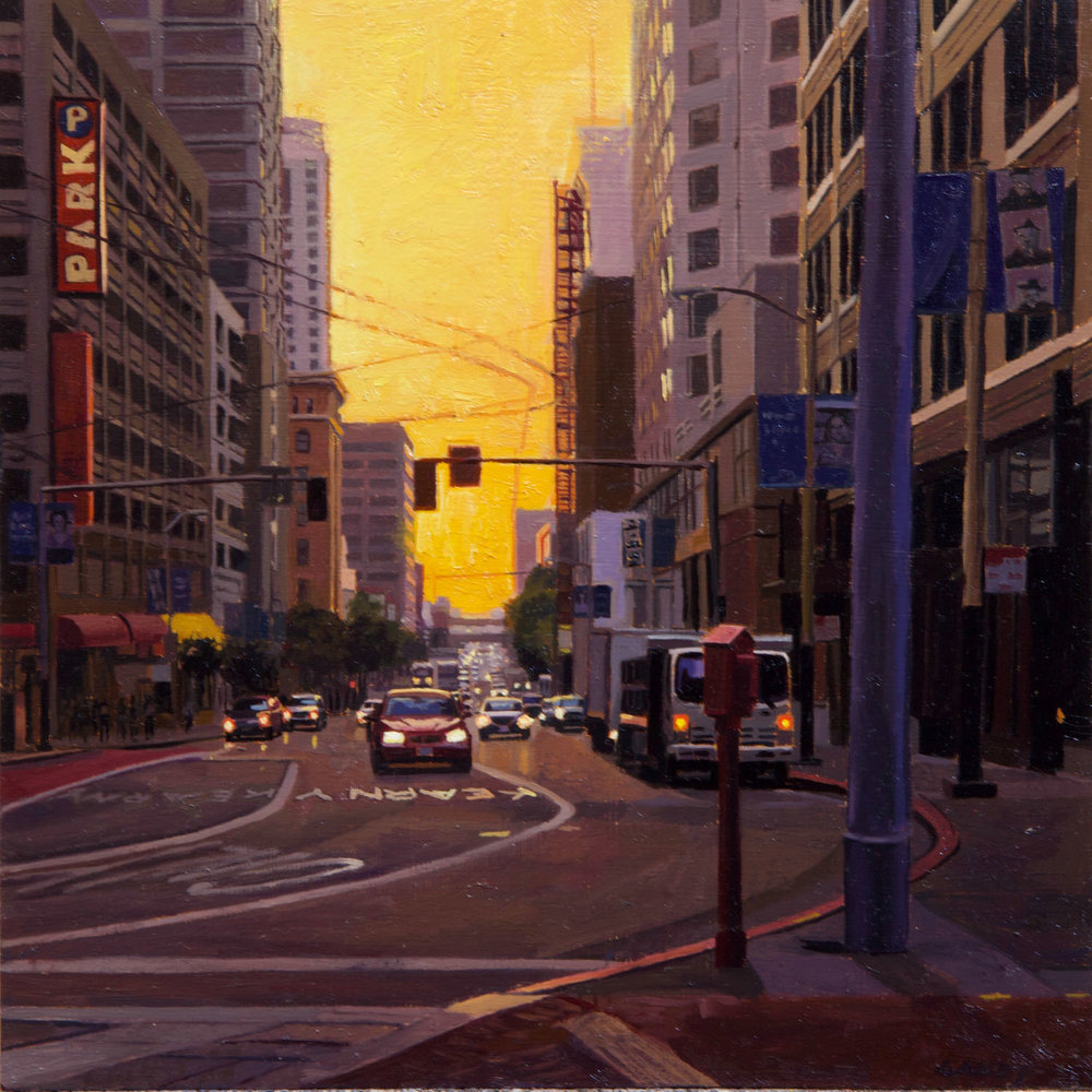 Sunrise on 3rd Street