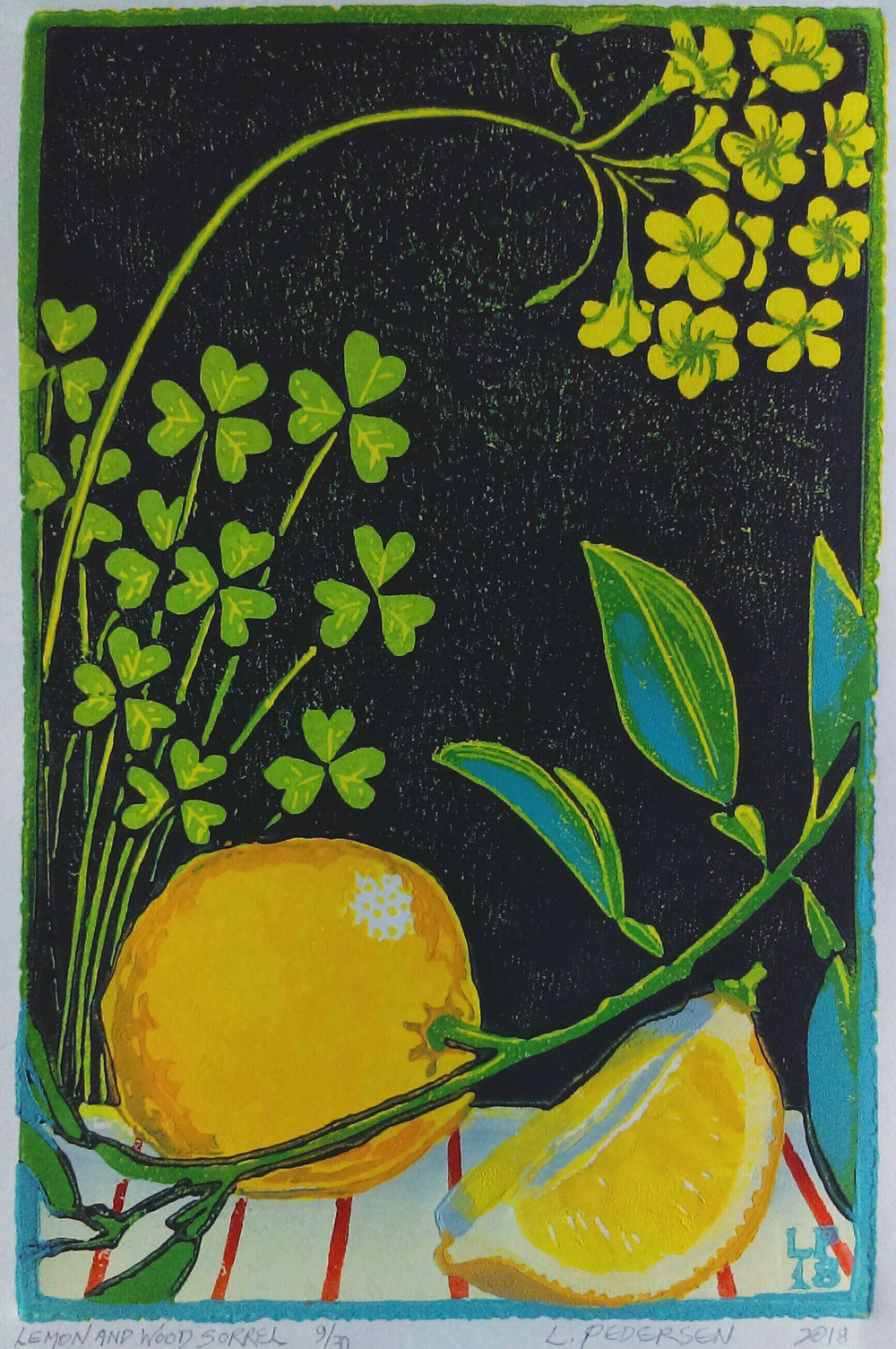 Lemon and Wood Sorrel