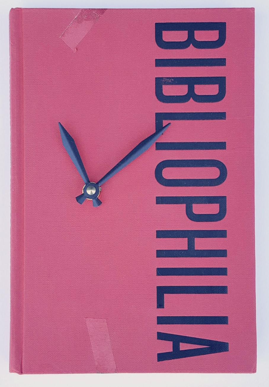 Bibliophilia Book Clock