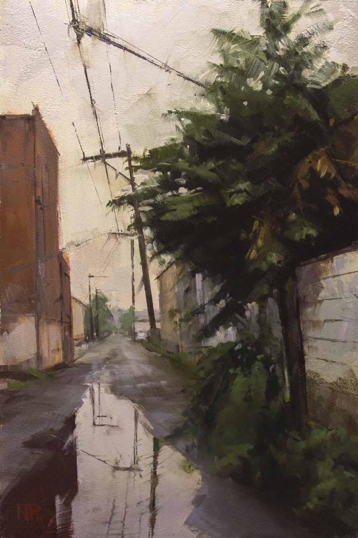 Alleyway Flora