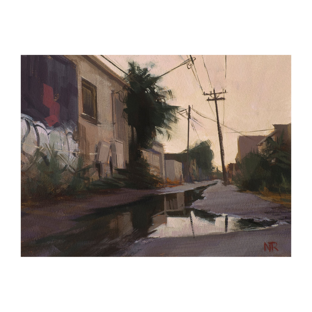 Alley Reflections Study