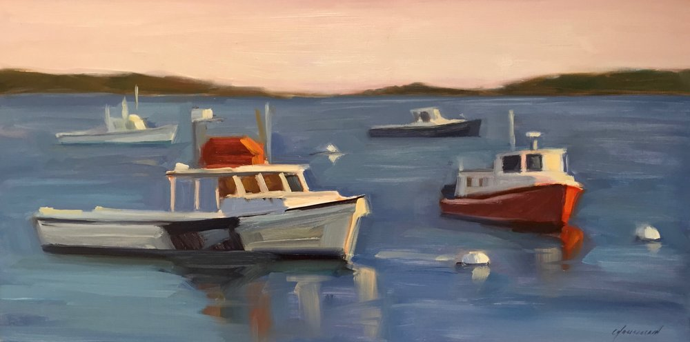 Fishing Boats, Port Clyde