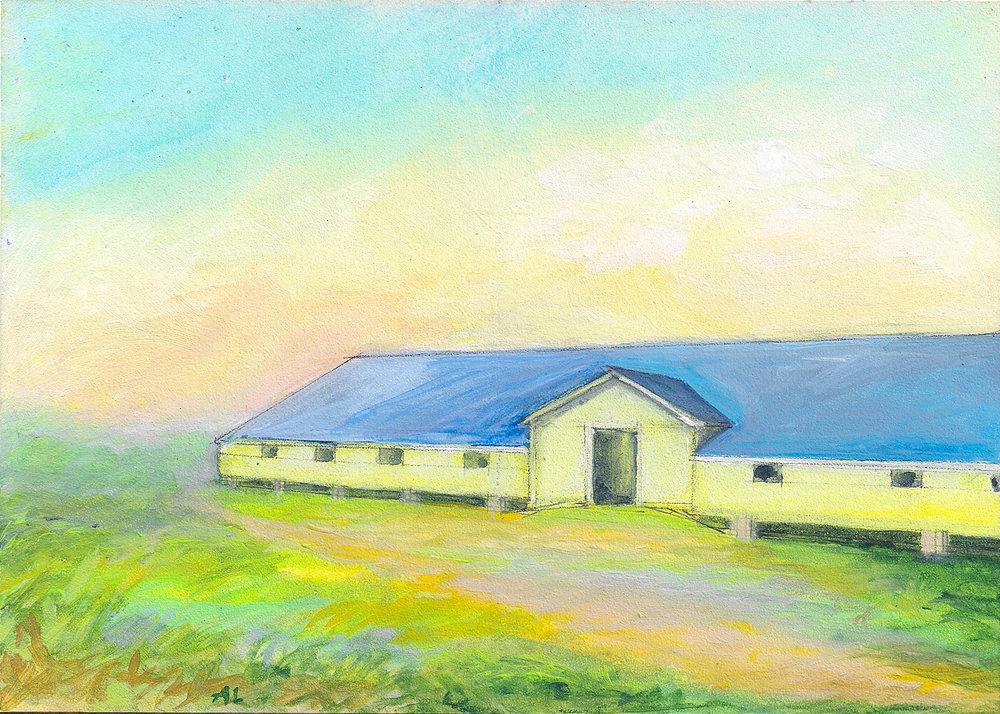 Long Barn at Pt. Reyes