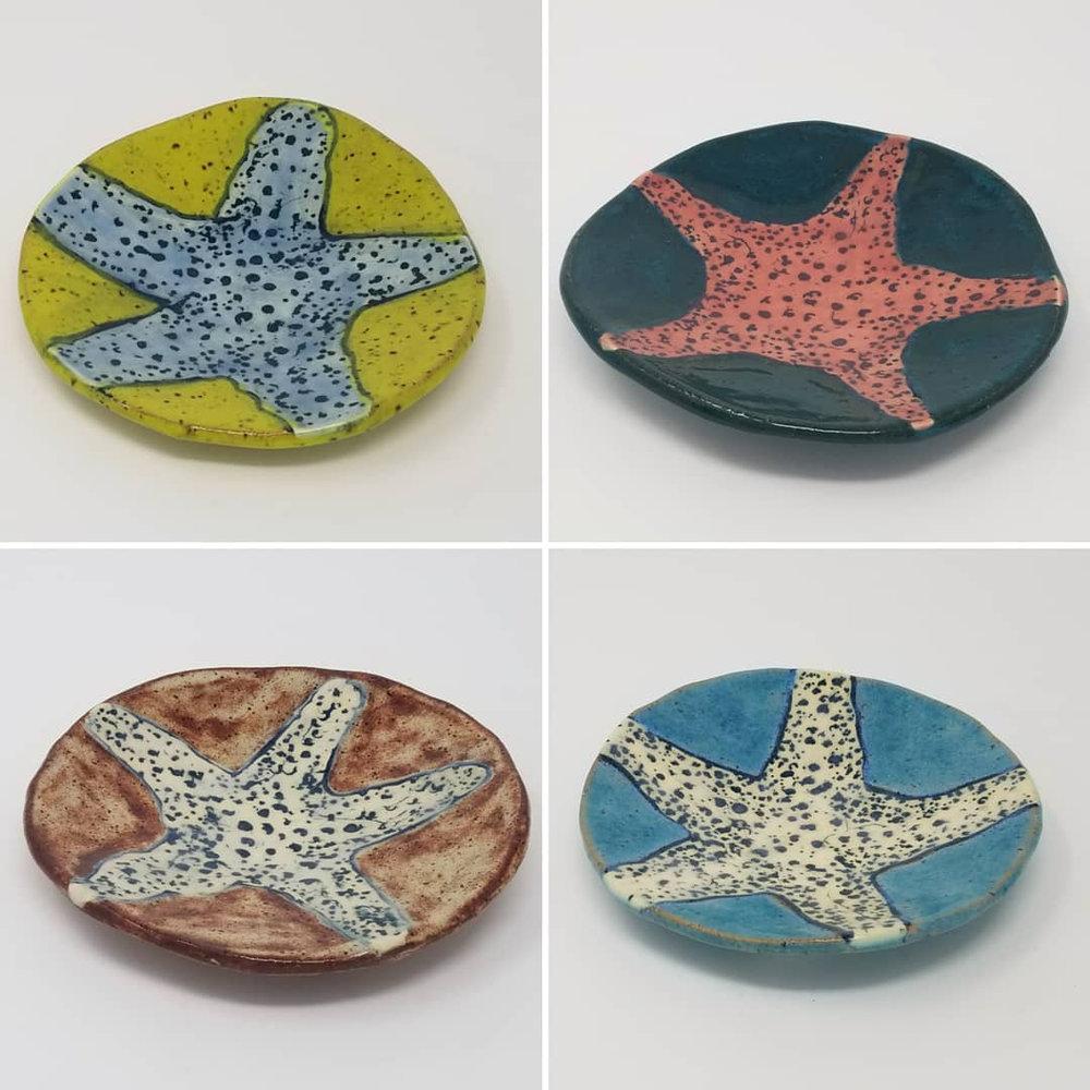 Starfish Plates