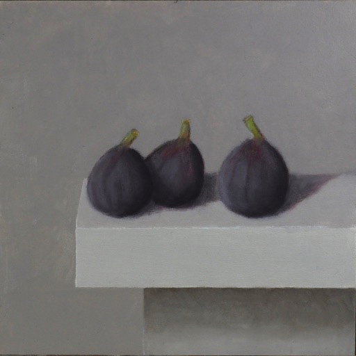 Still Life with Three Figs