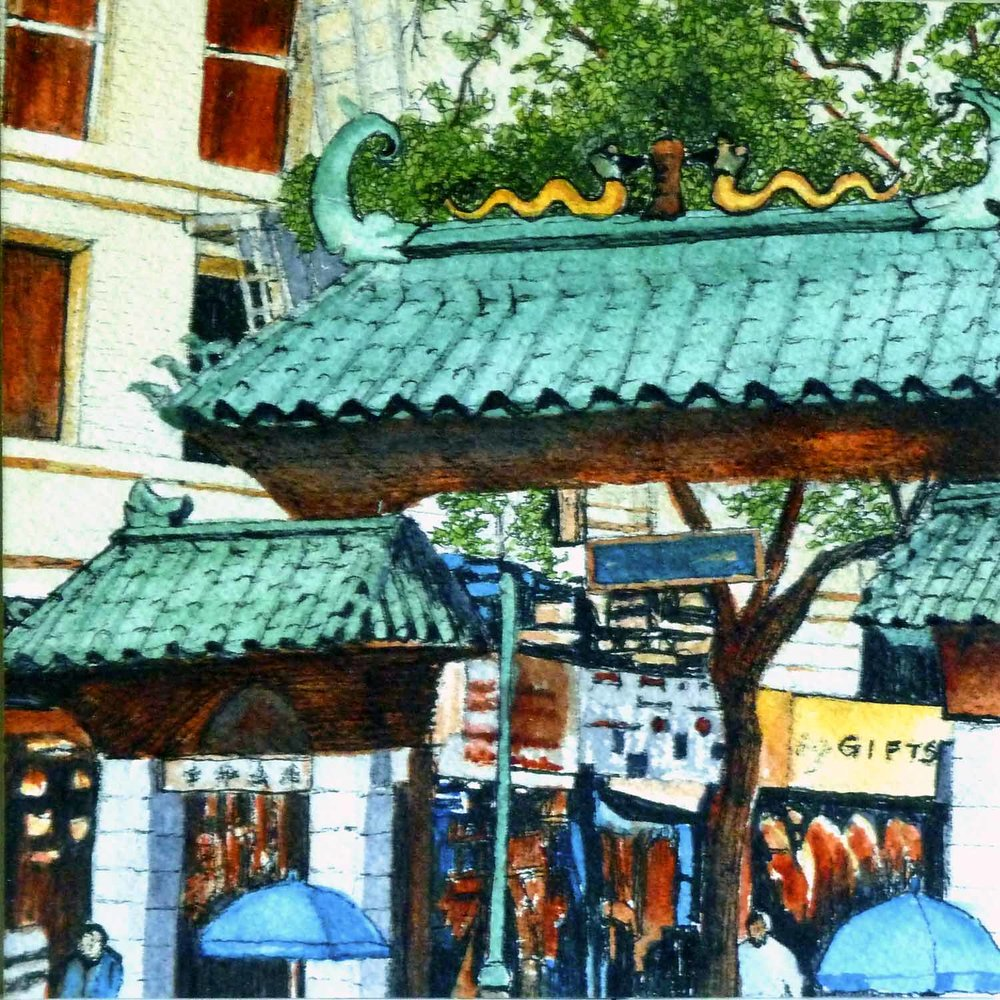 Dragon Gate, Chinatown, SF
