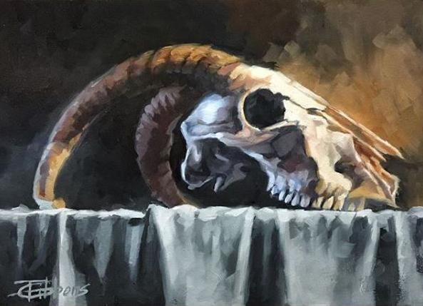 Goat Skull v5