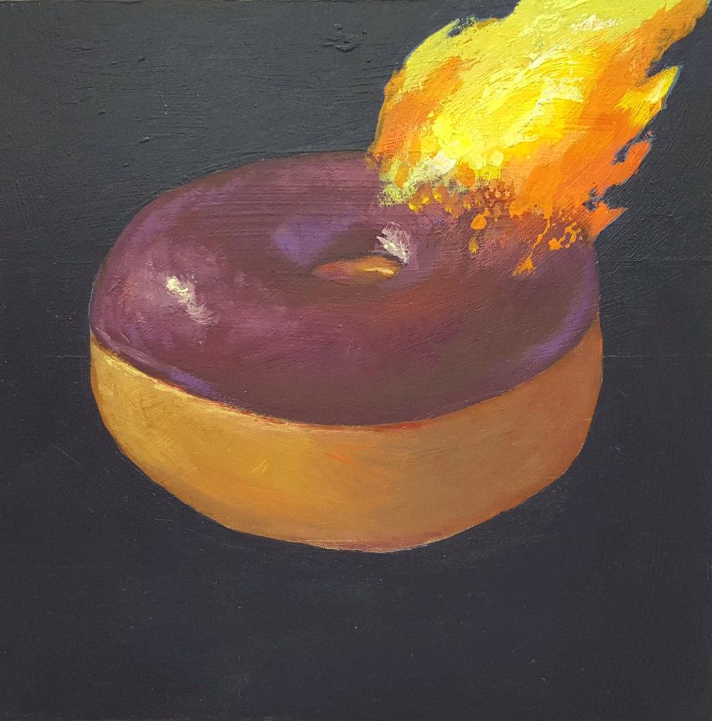 Donut Flambe #5