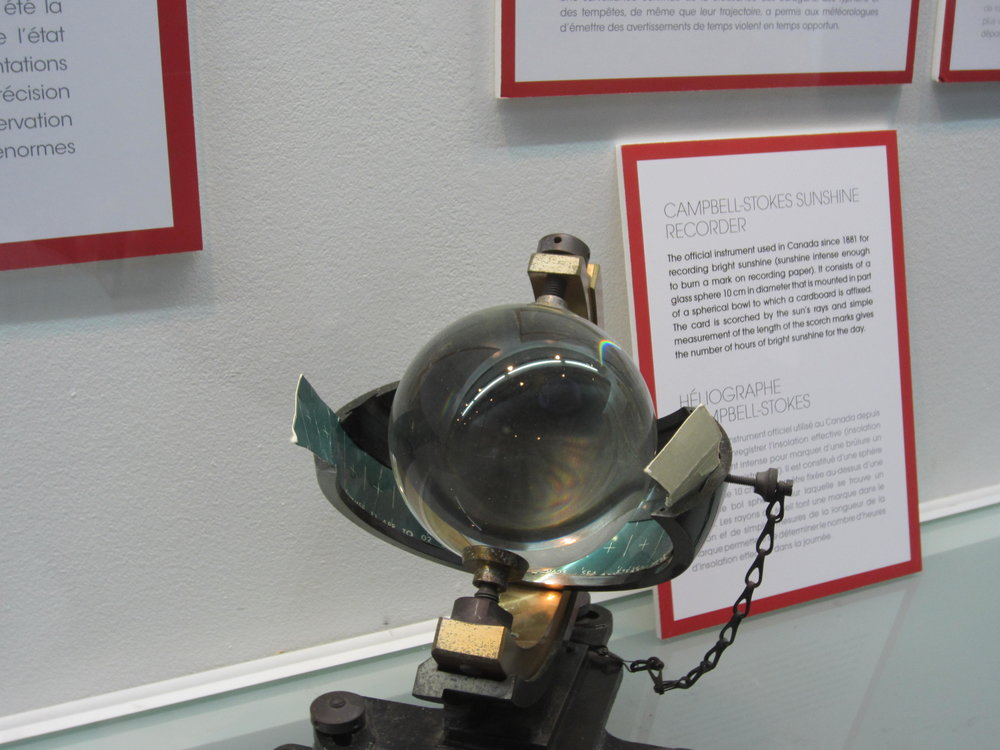 Learn about weather instruments...