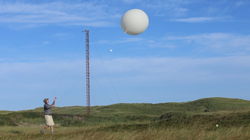 Learn about radiosondes...