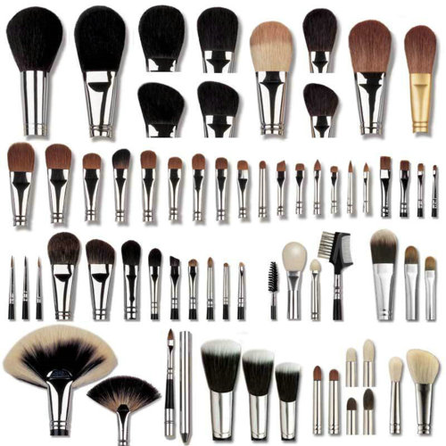 Makeup Brush Hair Types Makeup Brush Types by Genn