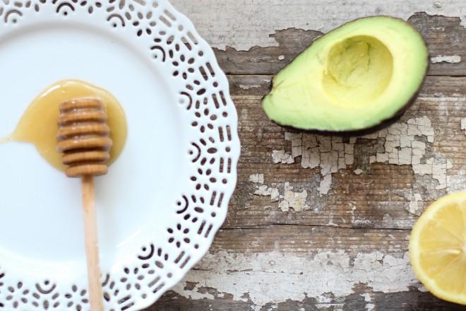 avocado honey mask