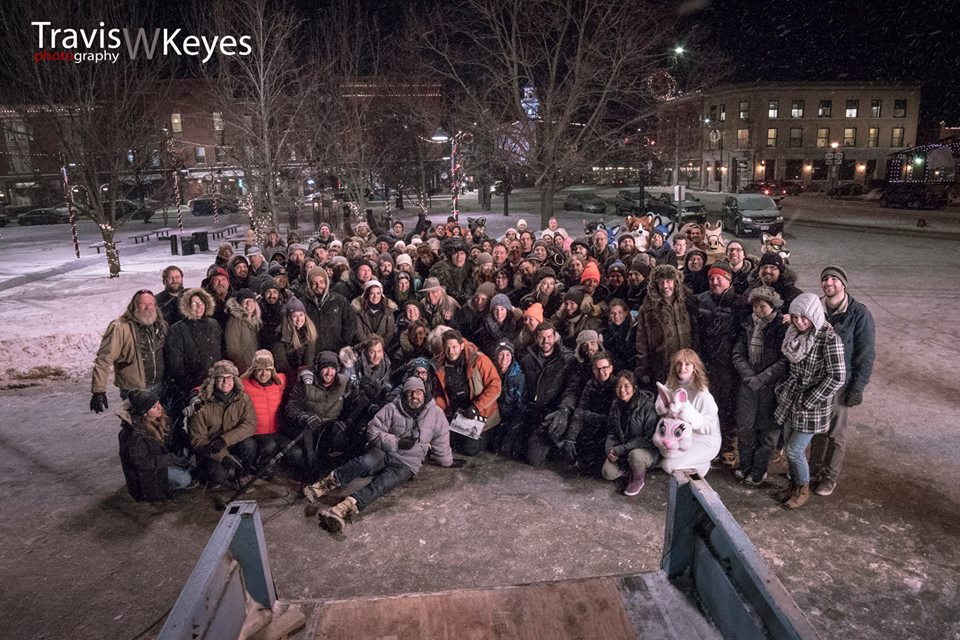 Pottersville Cast and Crew January 2016 Photo by Travis W. Keyes