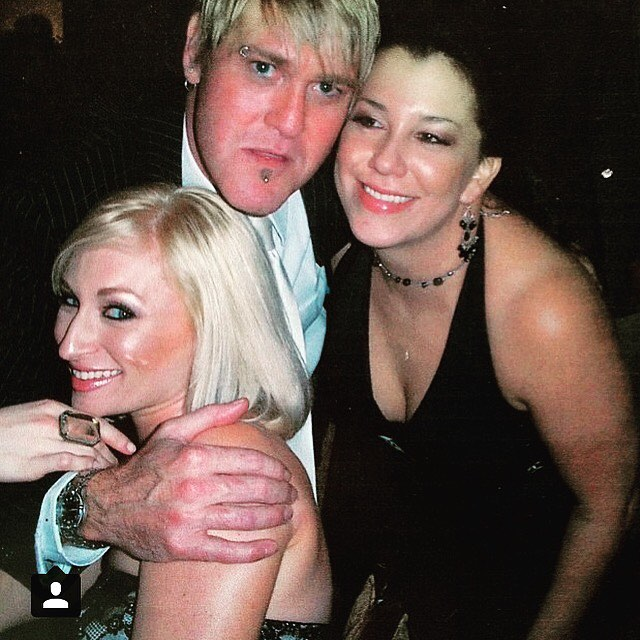 #tbt to the #macaidsgala circa 2004. I've been contouring and highlighting since I was 18, which means I've been contouring more in my life then I haven't contoured. I wonder how much money I've spent on that alone? Best night ever with @christopherburt67 and @vloveandspecialsalsa. All makeup on all of us  by @maccosmetics  #RIP @vloveandspecialsalsa #macaidsfund #maccosmetics