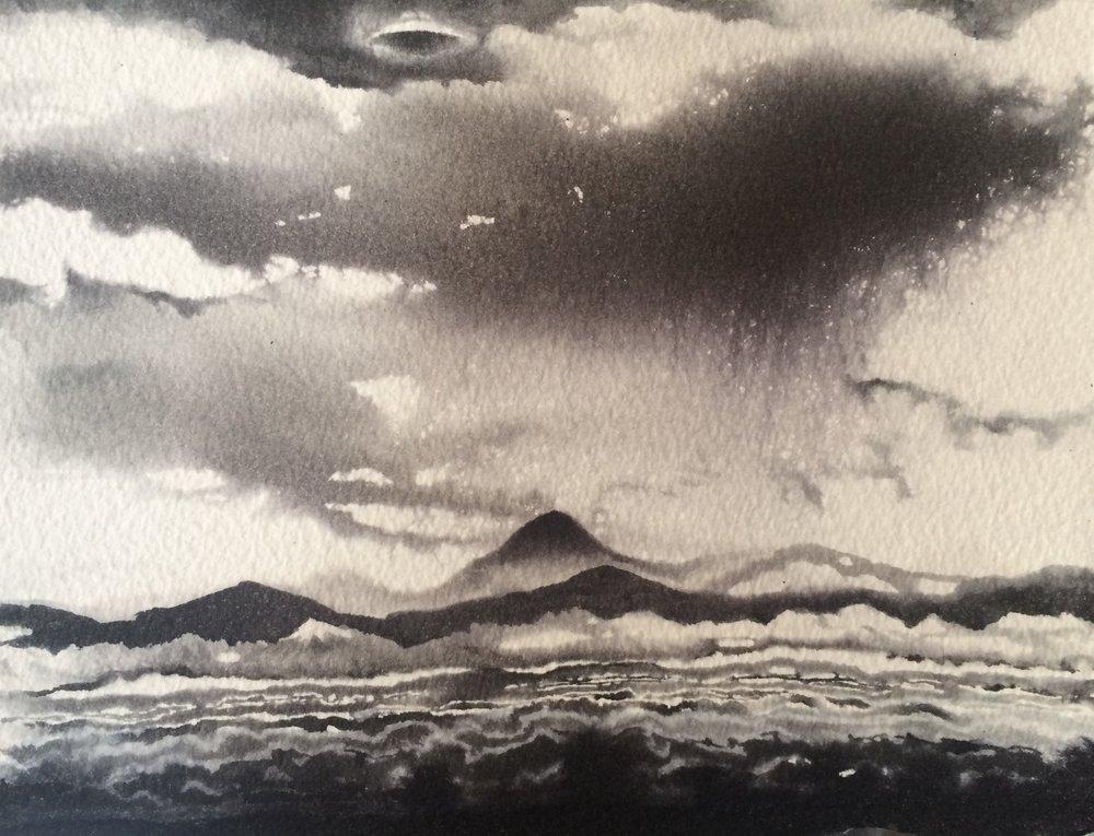 Lenticular cloud/UFO