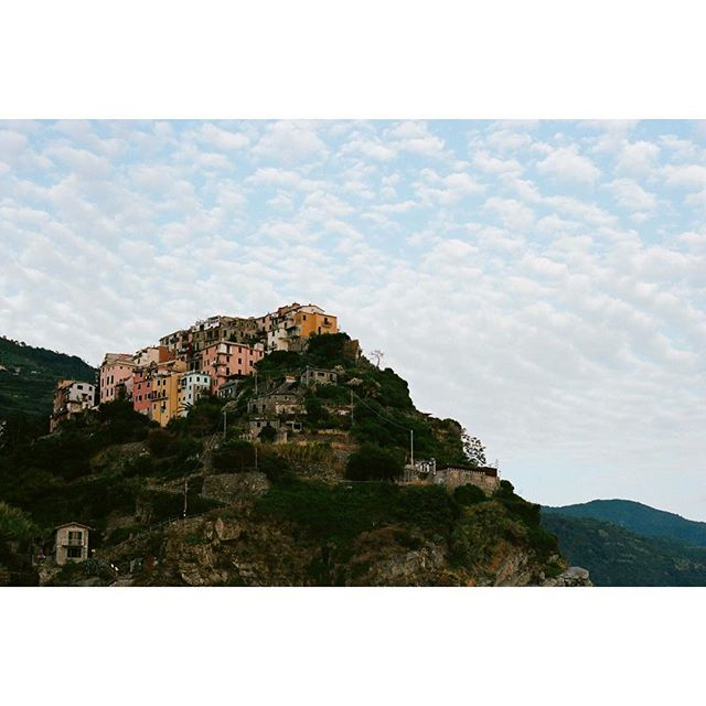 On the water. In the clouds.  #35mm #nikonfm2 #ektar100 #cinqueterre