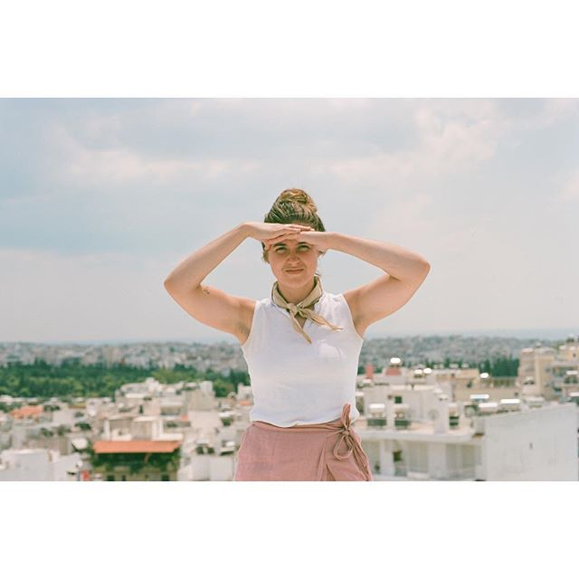 This one is coming to visit in 3 days! 🌸 #juliannazachariou #35mm #nikonfm2 #portra400 #kodak  remember when we were in #athens #greece