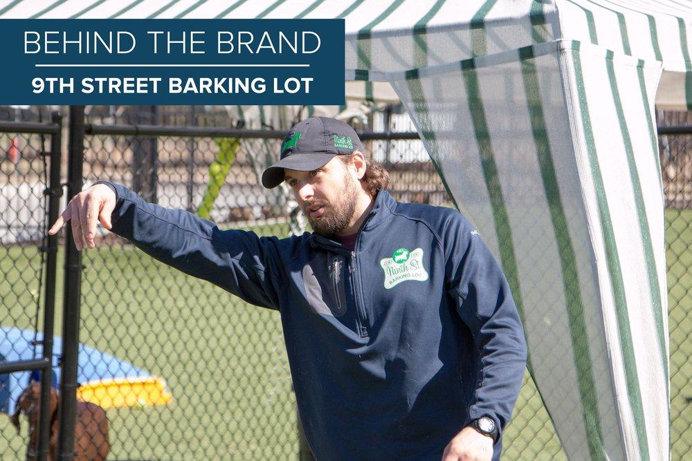Kyle Gillum , Owner of 9th Street Barking Lot