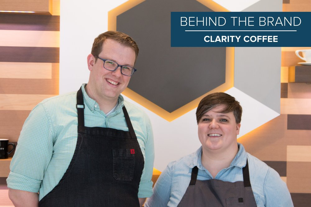 Steve and Chelsea Willingham, Co-owners of Clarity Coffee
