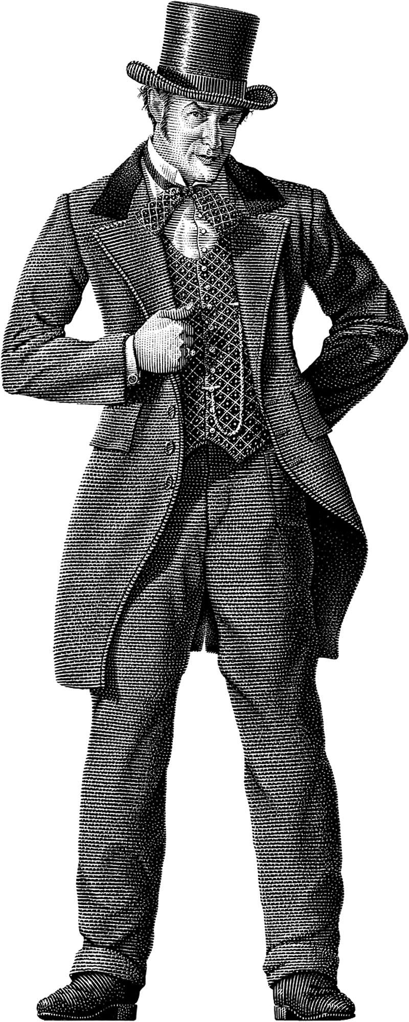 1850s Gambler