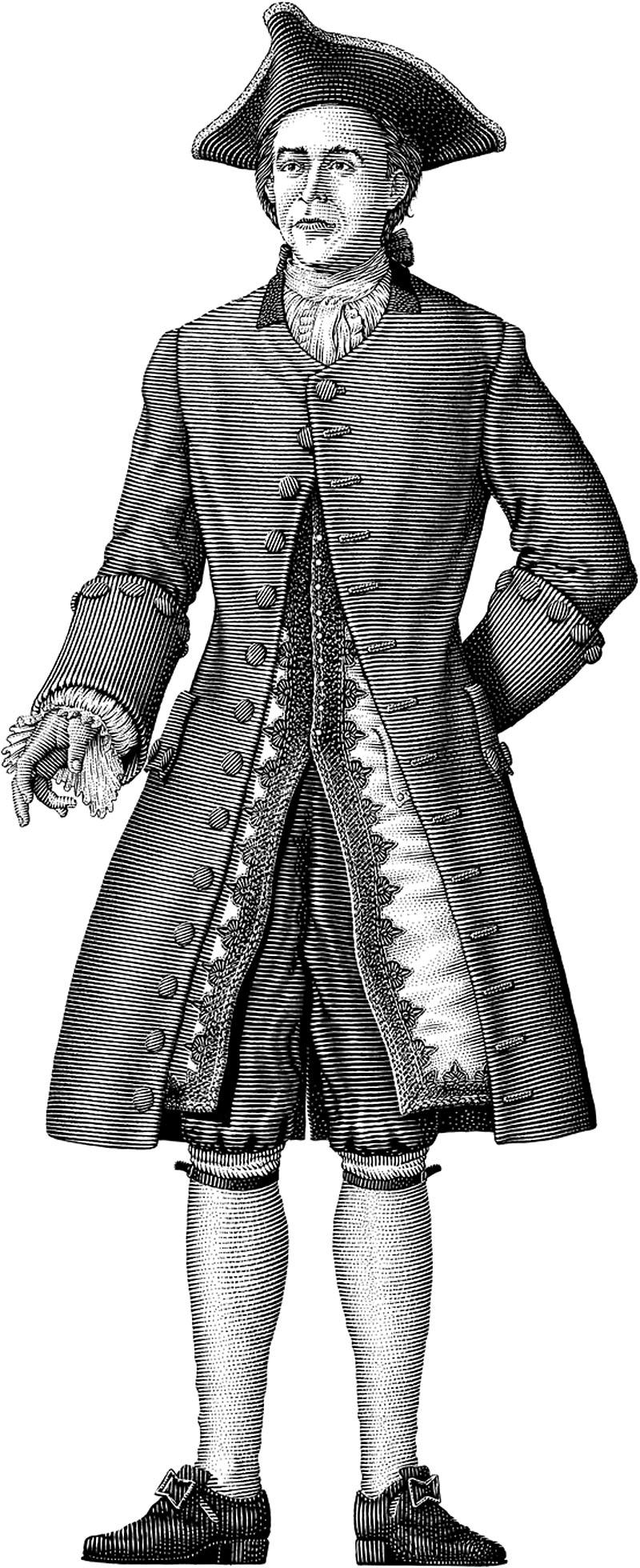English Gentleman, 1750s