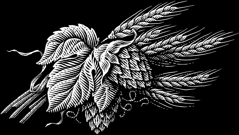 Hops and Barley for Amber Bock Package