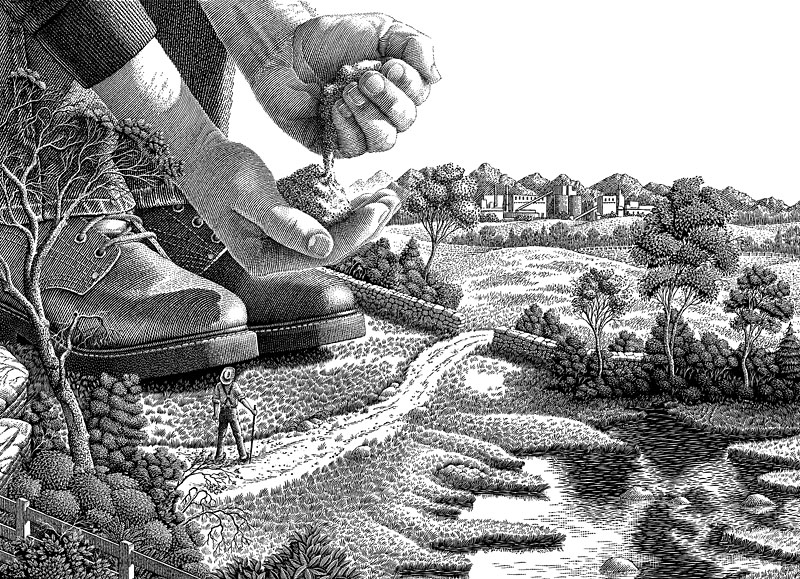 Giant Farmer - Giants in Their Field