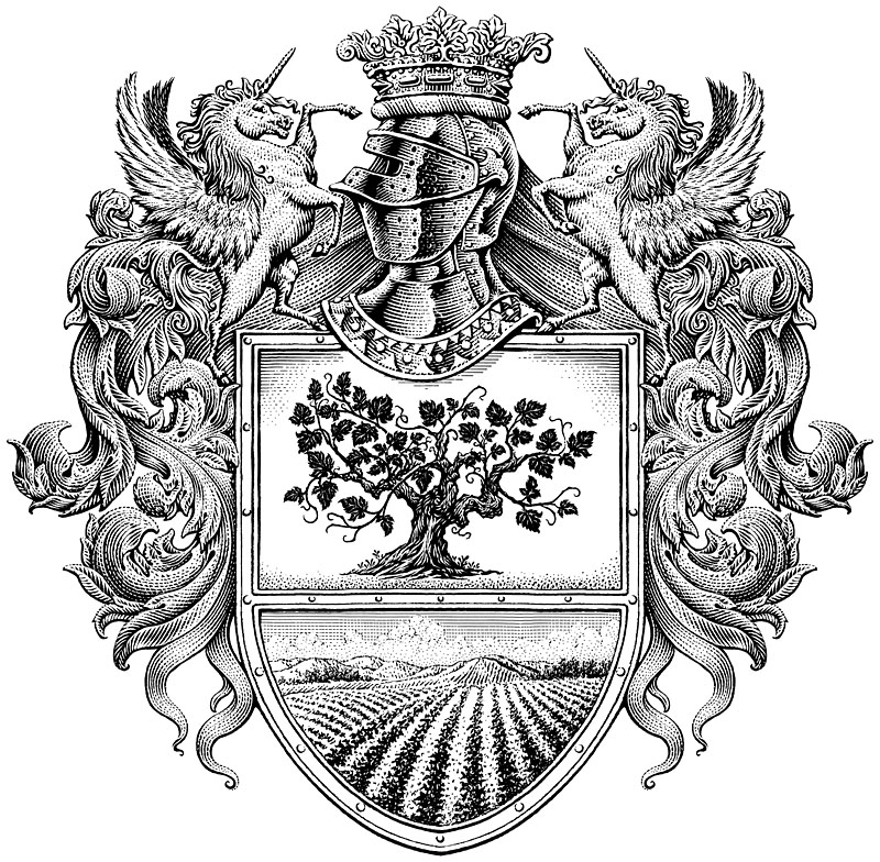 Crest for Wine Label