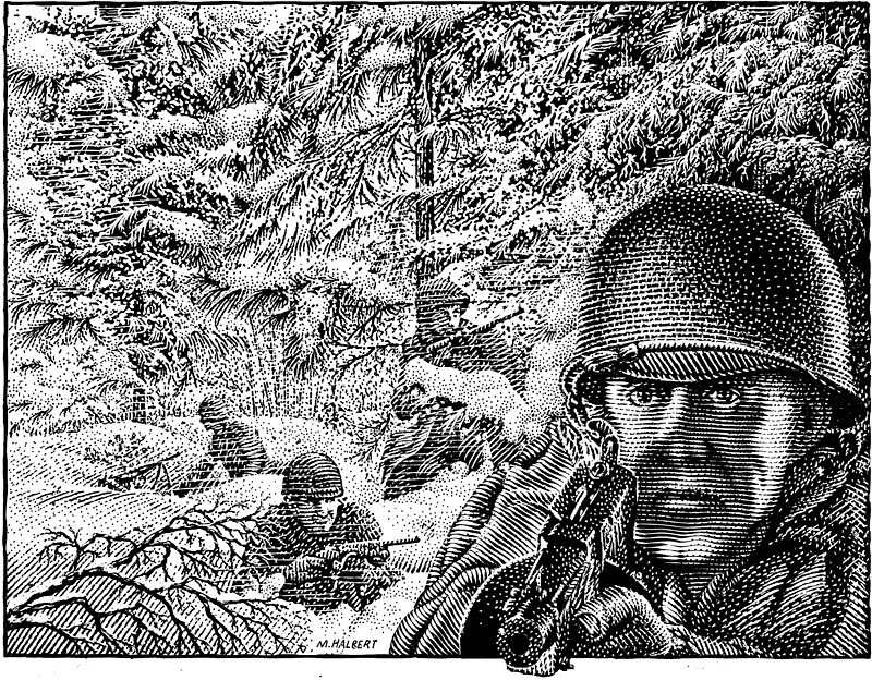 Battle Of The Bulge Drawing