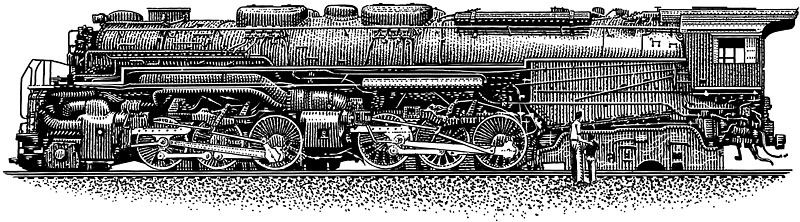 Train Engine, Locomotive