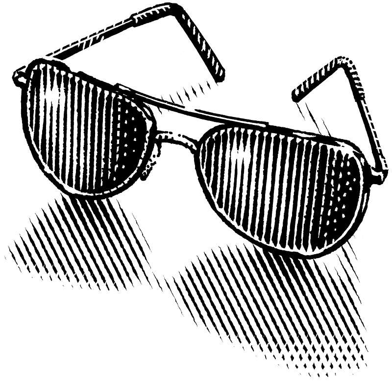 Sunglasses Drawing