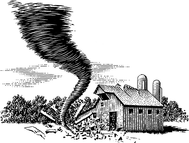 Tornado On The Farm