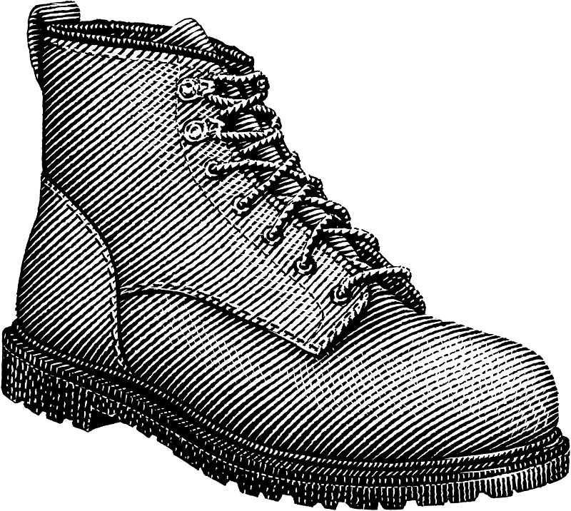 Men's Leather Work Boot