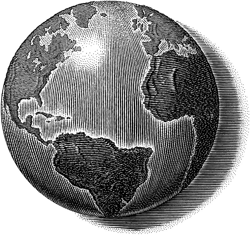 Earth, World, Or Globe